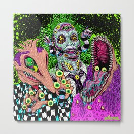 Ghost Monsters Metal Print