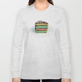 Rainbow cake Long Sleeve T-shirt