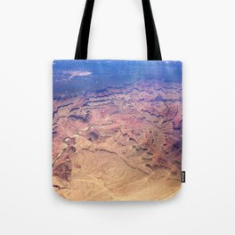 Grand Canyon From Above Tote Bag