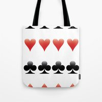 suits Tote Bags featuring Suits by doodletome