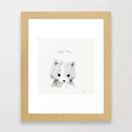 phoebe tilley Framed Art Print