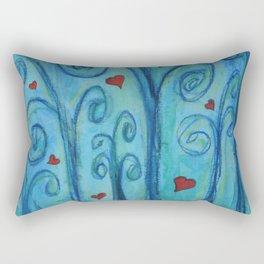 I love you, trees... Rectangular Pillow
