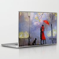 romantic Laptop & iPad Skins featuring Romantic by OLHADARCHUK