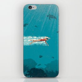 Comfort Zone iPhone Skin