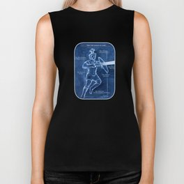 Full Armor of God - Warrior 3 Biker Tank