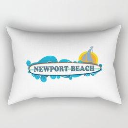 Newport RI. Rectangular Pillow