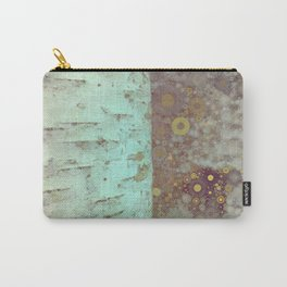Autumn Birch Tree Abstract Carry-All Pouch
