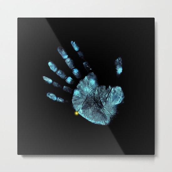 Hand Print Metal Print