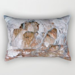 Mammoth Hot Springs Yellowstone Rectangular Pillow