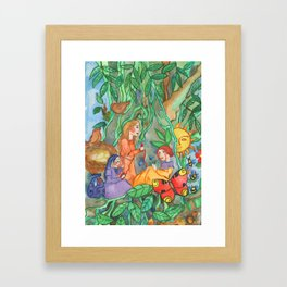 Three Norns Framed Art Print