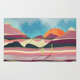 Pink Desert Glow Rug