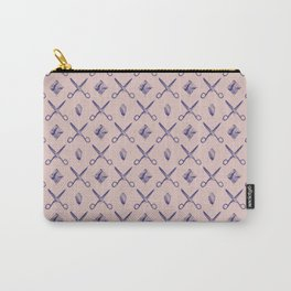 ROCK SCISSORS PAPER / Pattern Carry-All Pouch