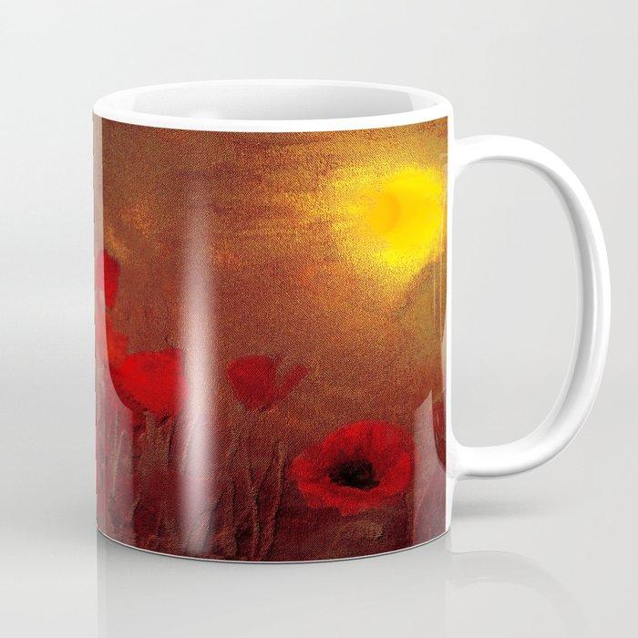 FLOWERS - Poppy heaven Coffee Mug