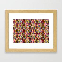 bugs 'n flowers Framed Art Print