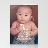 tim shumate Stationery Cards featuring Tim by Ben Nguyen