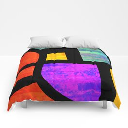 All the Right Angles, Abstract Art Comforters