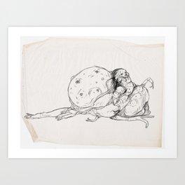Sketch #5 Art Print