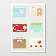 Radios Canvas Print