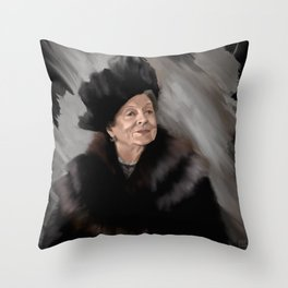 Granny Is My Spirit Animal Throw Pillow
