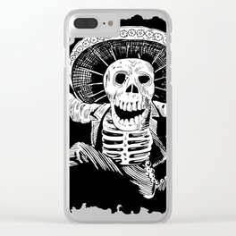Mad Dead Mariachi Clear iPhone Case