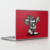 banjo Laptop & iPad Skins featuring Vintage Banjo by Hoborobo
