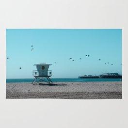 Birds and lifeguard Rug