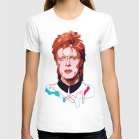 bowie T-shirts featuring Bowie by Anna McKay