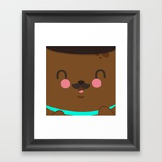 Bear Dad Framed Art Print