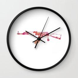 Kalashnikov Wall Clock