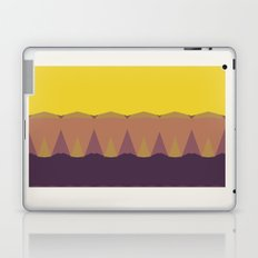 Geometric Sunset Print Laptop & iPad Skin