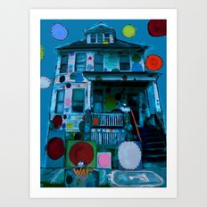 Detroit Heidelberg Project Art Print