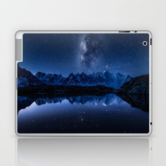 Night mountains Laptop & iPad Skin