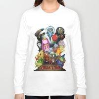 lemongrab Long Sleeve T-shirts featuring Zelda Time! by Yiji
