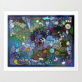 Space Opera Art Print