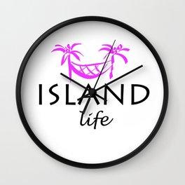Island Life Wall Clock