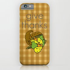 Give Thanks, November Cover Slim Case iPhone 6s