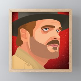Hopper Framed Mini Art Print