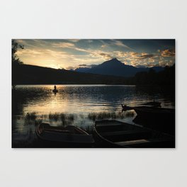 Blessed silence Canvas Print