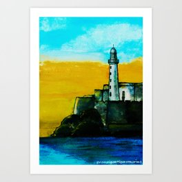 Dream Places to Visit Art Print