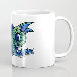 Knotwork Ogopogo Coffee Mug