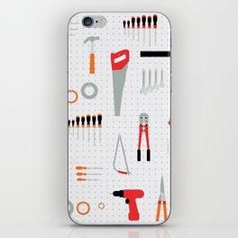 Tool Wall iPhone Skin