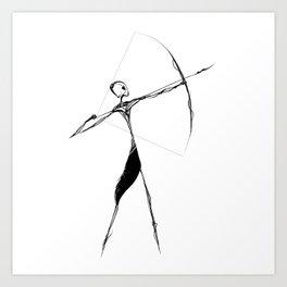 The Archer Art Print
