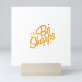 The Be Sharps Mini Art Print