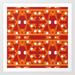 Geometric abstract design for your creativity Art Print