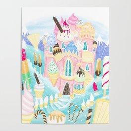 Ice cream Castle Poster