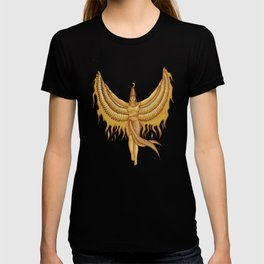 Isis, Goddess Egypt with wings of the legendary bird Phoenix T-shirt
