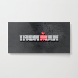 Ironman Metal Print