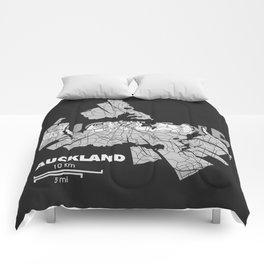 Auckland Map Comforters