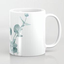 Minimal Eucalyptus Coffee Mug