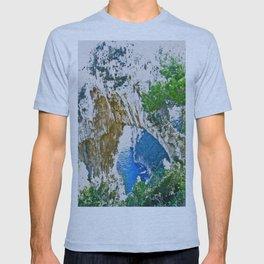 Beautiful Rock Site from Positano T-shirt